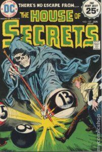 billiards comic book